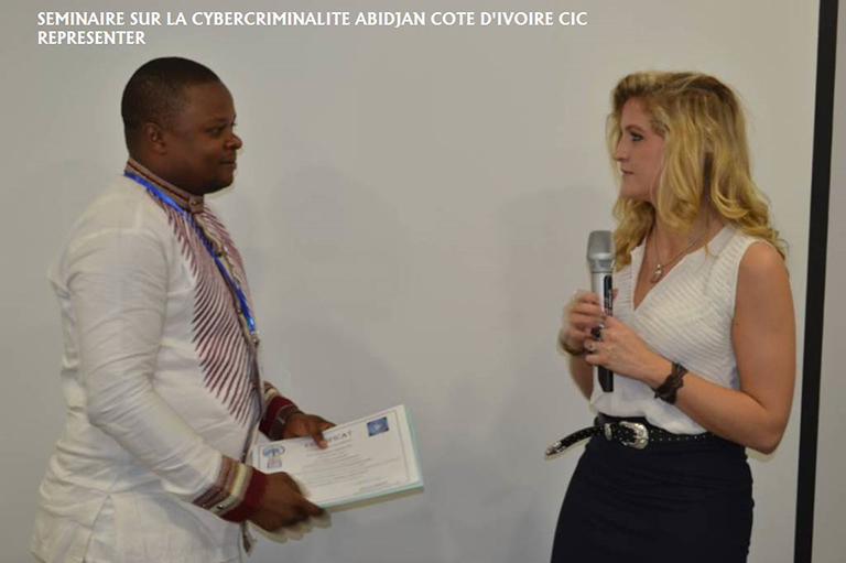 SEMINAR ON CYBER CRIMINALITY  IVOIRE 2017